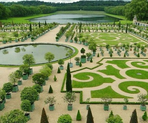beauty, france, and garden image