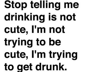 drunk, drinking, and alcohol image