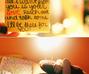 post its, quotes, and love image