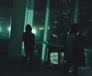 grunge, dark, and night image