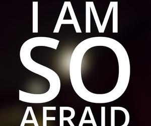2016, afraid, and easel image
