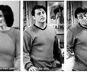 friends, care, and Joey image