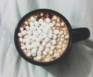 food, drink, and marshmallow image