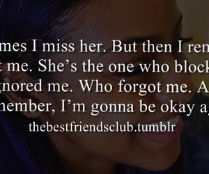 forgot, miss, and okay image