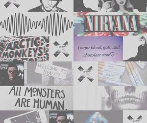 nirvana, arctic monkeys, and lana del rey image