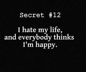 hate, secret, and life image