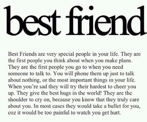 Best, friend, and quote image