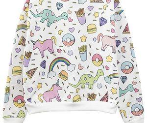 unicorn, kawaii, and sweater image