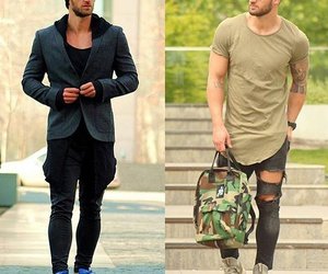 fashion, men style, and look image