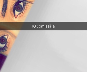 eyes, girl, and nike image