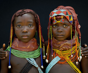 africa and colours image