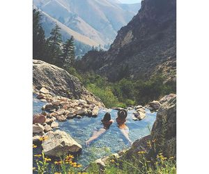 nature, mountains, and summer image