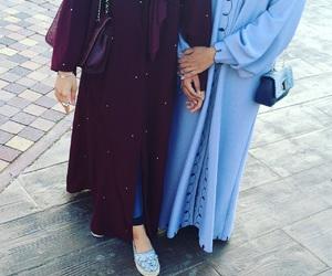 arab, abaya, and dress image