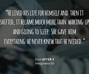 after, quote, and love image
