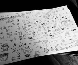 doodles, drawings, and tumblr image