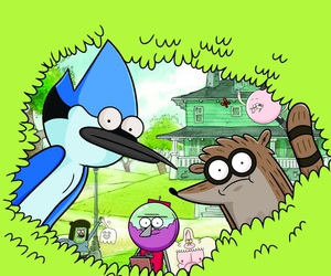 background, wallpaper, and regular show image