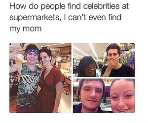 funny, celebrities, and lol image