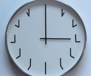 clock, time, and cool image