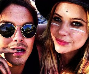 caleb, hanna, and pretty little liars image