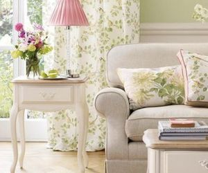 decorating, living rooms, and laura ashley image