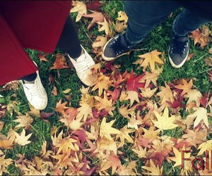 superga, fall, and red image