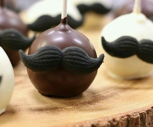 cake pops, chocolate, and food image