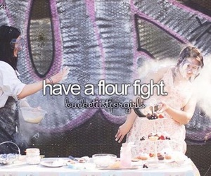 bucket list, before i die, and flour image