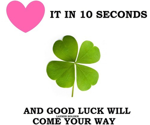 luck and way image