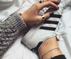 adidas, fall, and girl image