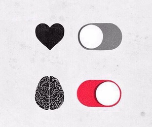 brain, heart, and Or image