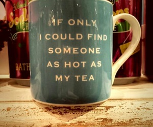 tea, cup, and Hot image
