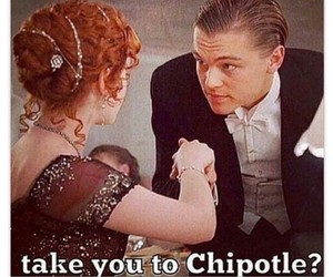 chipotle, funny, and hilarious image