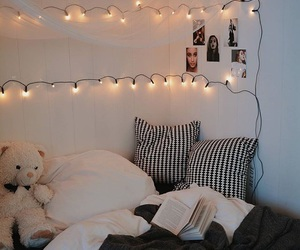 black and white, ideas, and bedroom design image