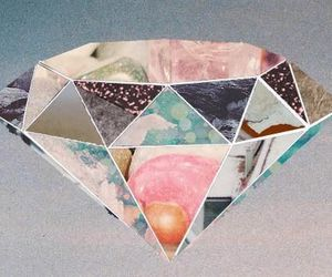 diamond, gif, and hipster image