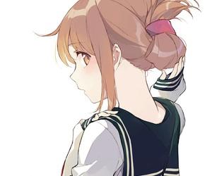 anime, anime girl, and inazuma image