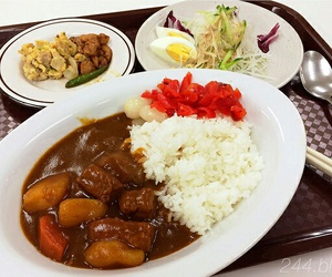 curry, food, and japan image