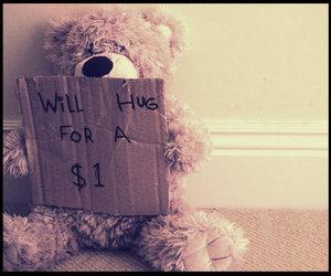 hug and bear image