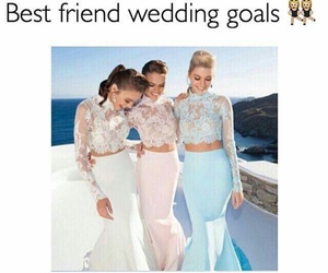 goals and wedding image