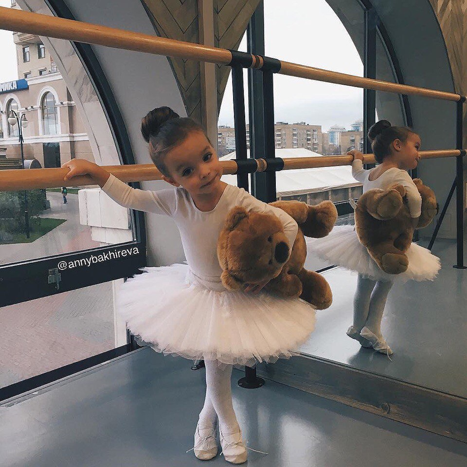 cute, baby, and ballet image