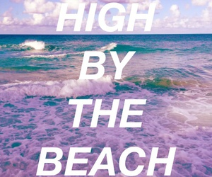 high by the beach, lana del rey, and grunge image