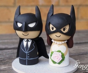 batman, wedding, and love image