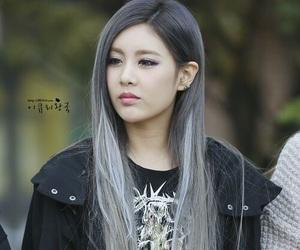hair, grey, and kpop image