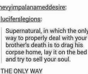 crowley, dean, and Sam image