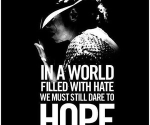 michael jackson, hope, and king of pop image