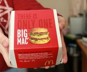burger, mc donald, and mcd image