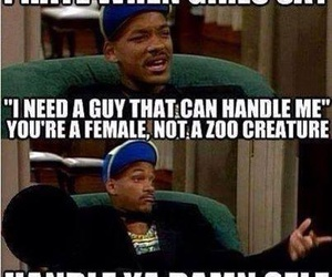 funny, will smith, and handle image
