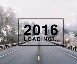 2016, december, and happy new year image