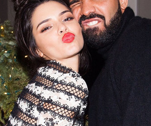 Drake and kendall jenner image