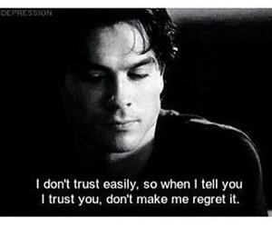 quotes, tvd, and trust image