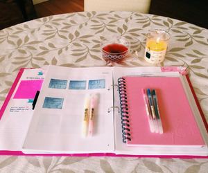 candle, exam, and girly image